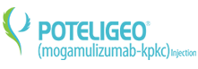 POTELIGEO® (mogamulizumab) Injection logo